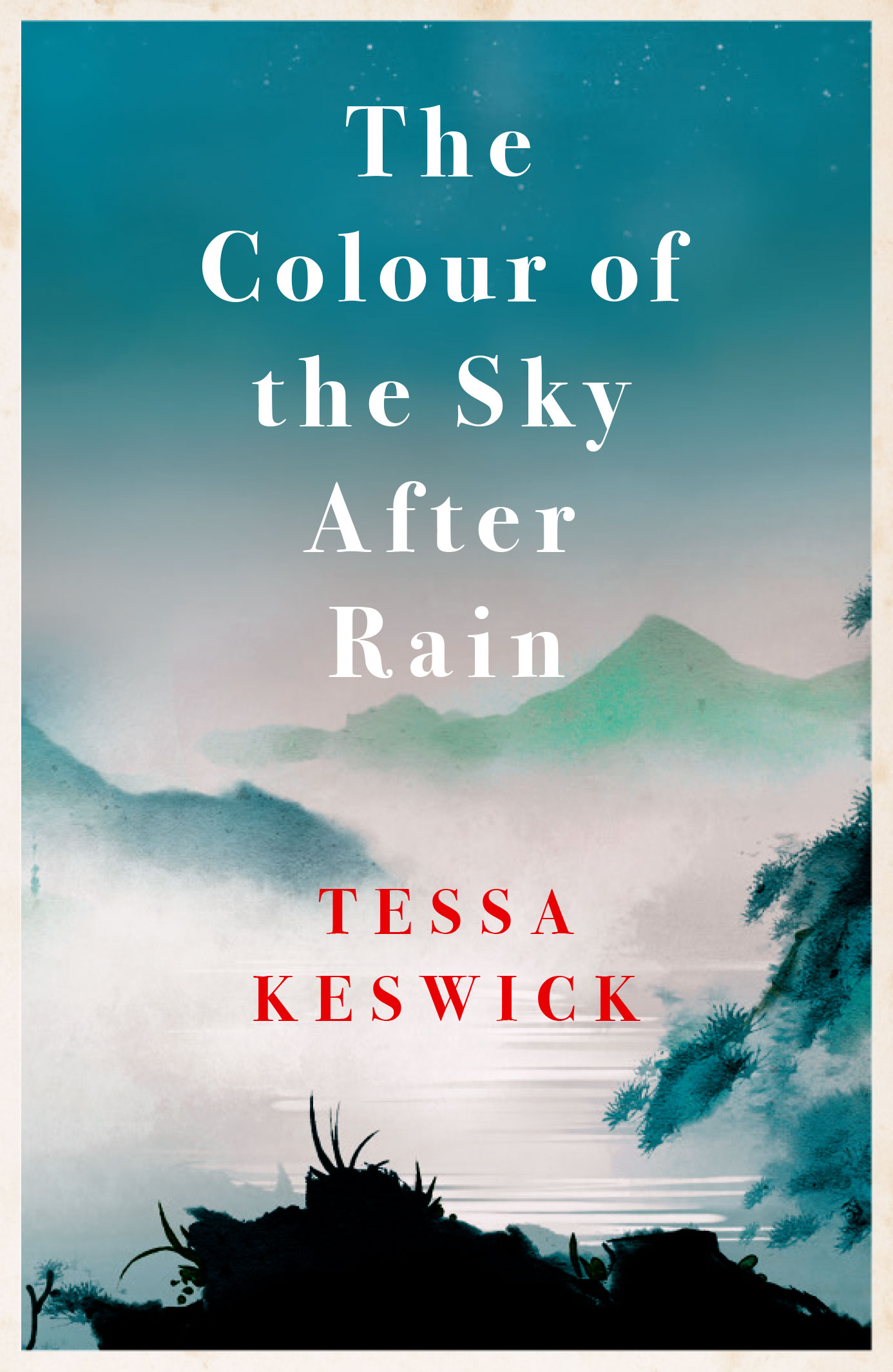 Tessa Keswick The Colour of the Sky After Rain - Book Cover